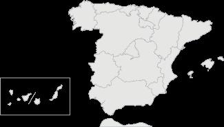 Mapa de España - Guía Repsol de alimentos y bebidas