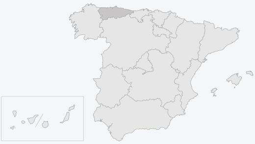 Zona de producción del Chosco de Tineo