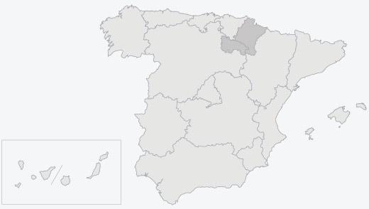 Zona de producción de conservas de pochas