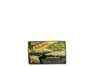 Sardinas en aceite de oliva virgen extra Albo