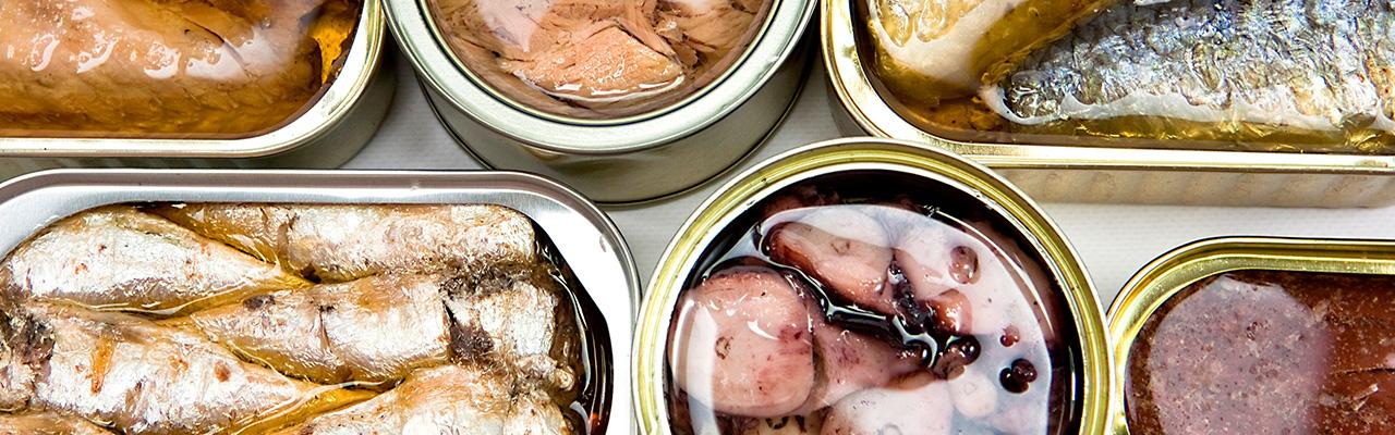 Conservas de pescado y marisco - Guía Repsol de alimentos y bebidas